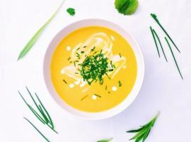 тыквенный суп салатшоп salatshop
